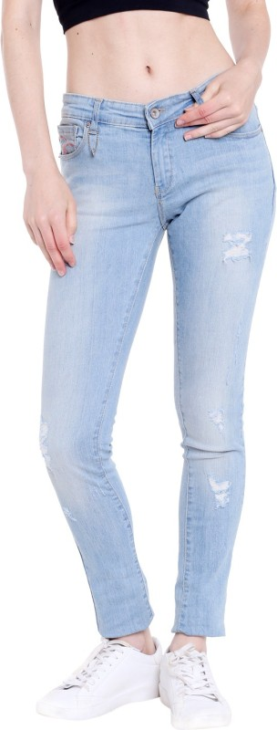 Spykar WACT-01AG-47 Regular Womens Blue Jeans
