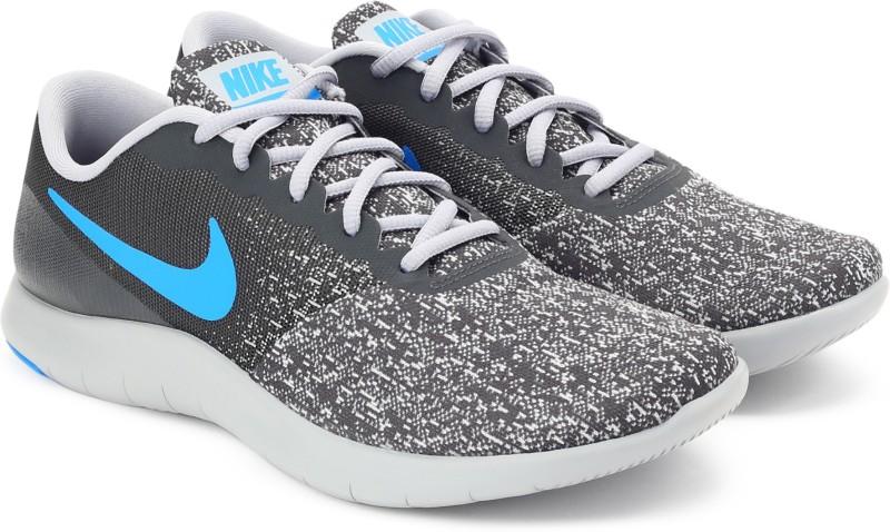Nike FLEX CONTACT Running Shoes For Men(Grey)