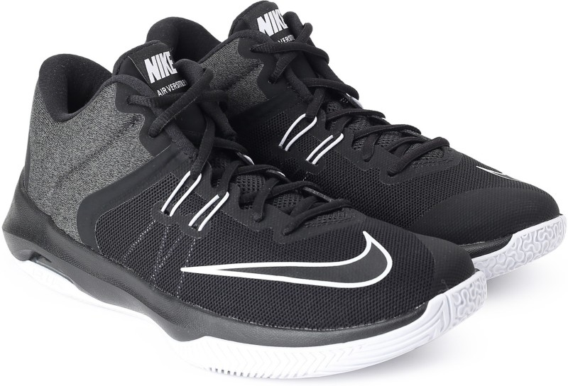 Nike AIR VERSITILE II Basketball Shoes For Men(Black, Grey)