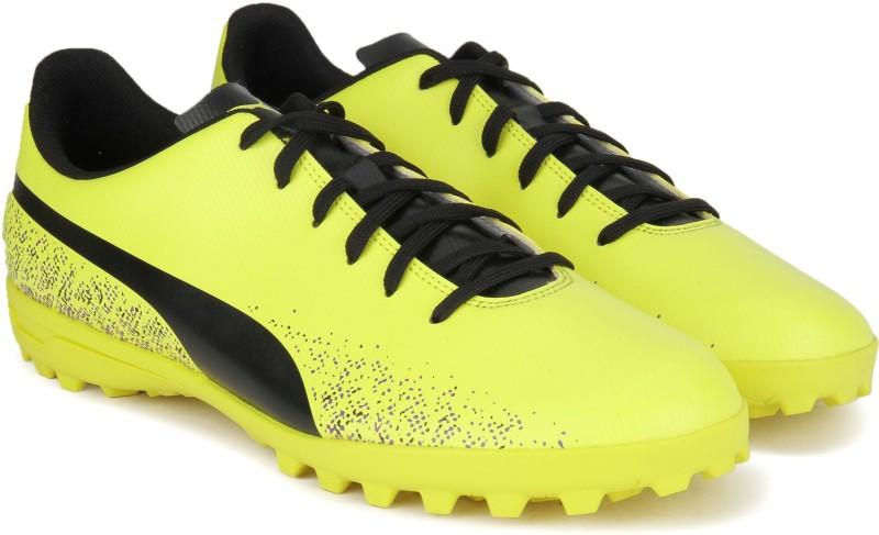 Puma Truora TT Football Shoes For Men(Yellow)