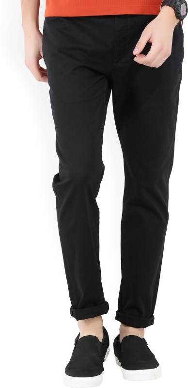 Levis Slim Fit Mens Black Trousers