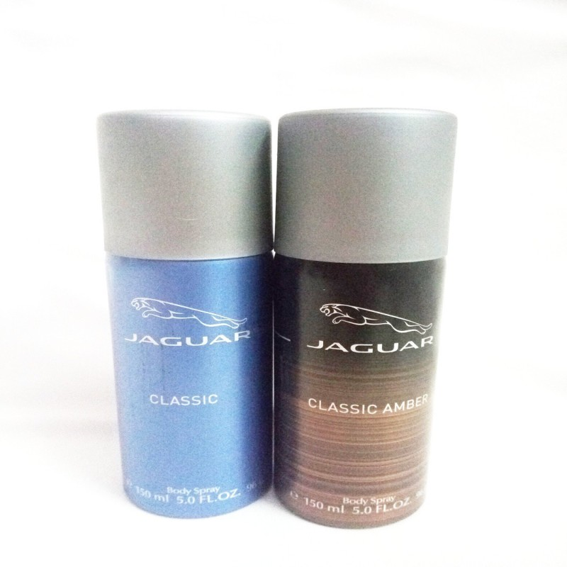Jaguar CLASSIC AMBER AND CLASSIC Body Spray - For Men(300 ml, Pack of 2)