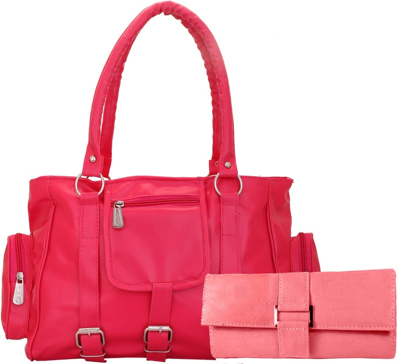 Lady bar Women Red, Pink Shoulder Bag