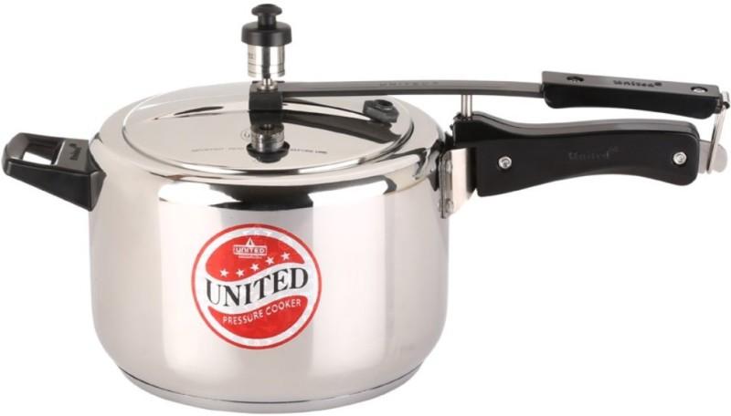 United Steeltuff 3 L Pressure Cooker with Induction Bottom(Aluminium)