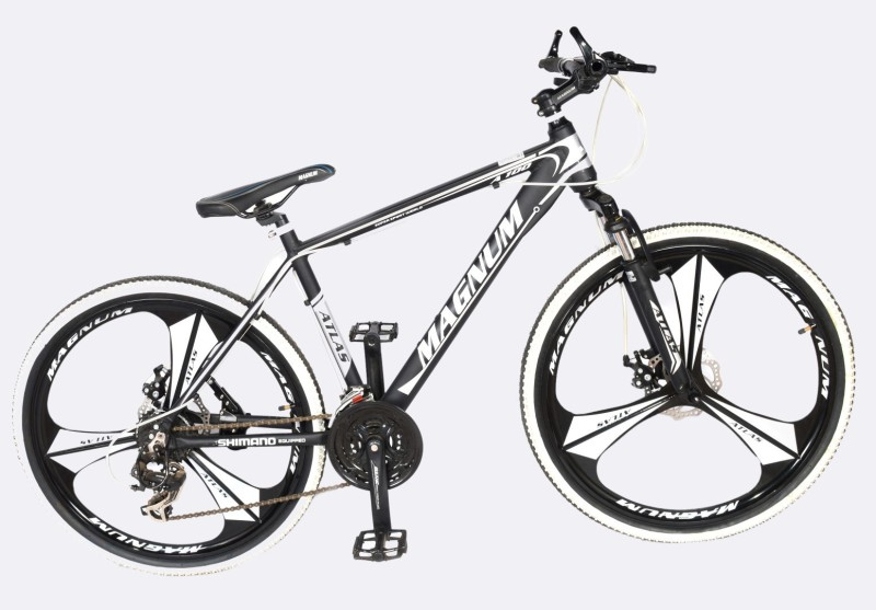 Atlas A100 Magwheel Bicycle For Adults 26 T 21 Gear Mountain/Hardtail Cycle(Multicolor)