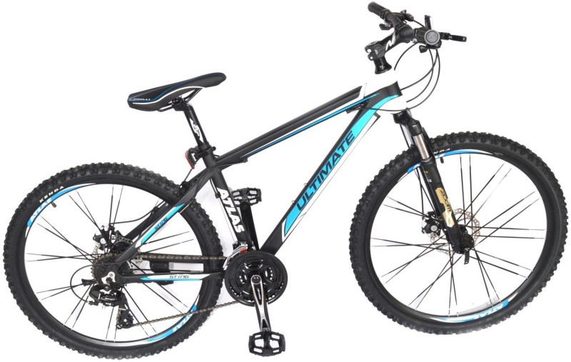 Atlas Sting 6061 Alloy Bicycle For Adults 26 T 24 Gear Mountain/Hardtail Cycle(Multicolor)