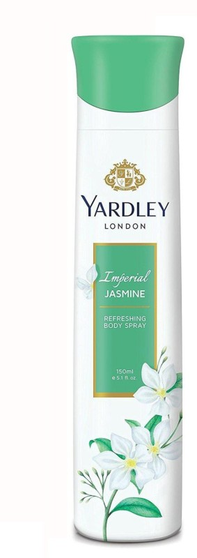 Yardley Jasmine Body Spray - For Women(150 ml)
