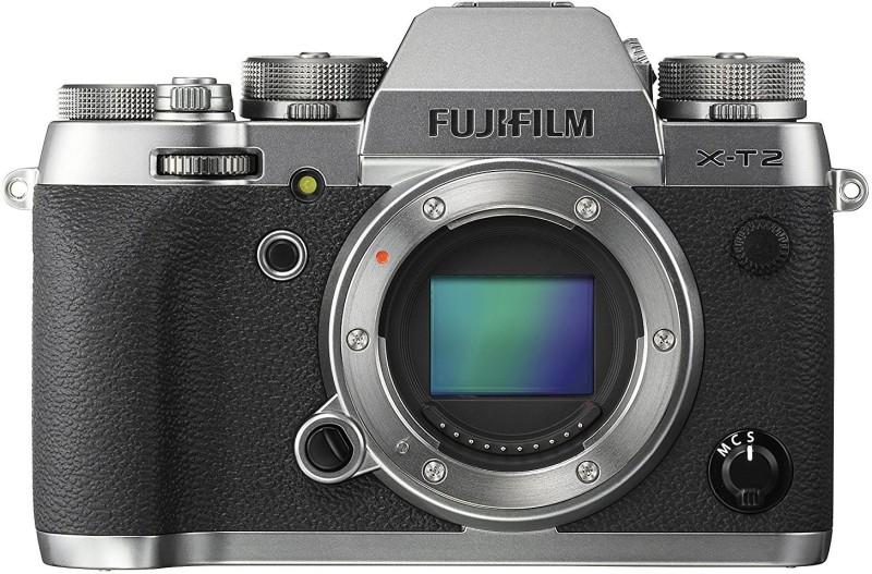 Fujifilm X-T2 Graphite Silver Mirrorless Camera Body Only(Silver)