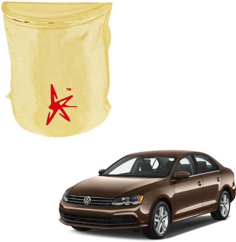 AutoKraftZ Nylon Dustbin(Beige)