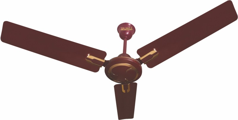 Plaza Eluga-Deco 1200 mm 3 Blade Ceiling Fan(Brown)