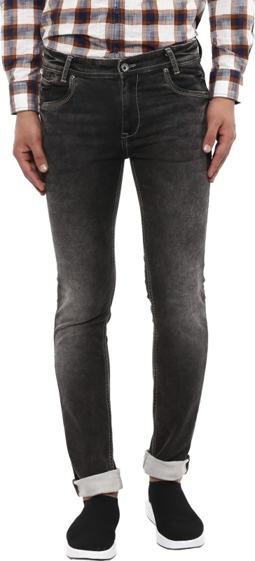 Mufti Slim Men Black Jeans