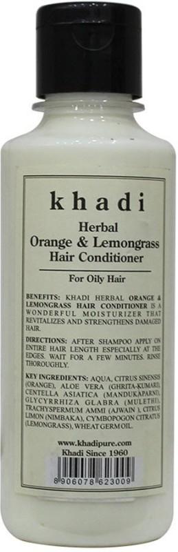 Khadi Herbal Orange & Lemongrass Hair Conditioner(210 ml)