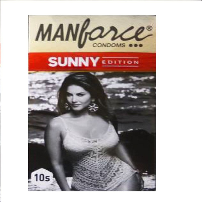Manforce Sunny EDITION 3 in 1 Condoms - 10s Pack Condom(Set of 10, 10S)
