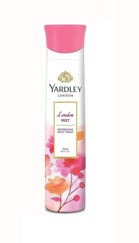Yardley Mist Body Spray - For Women(150 ml)