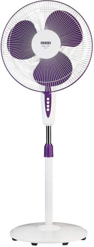 Usha Misty Air Icy 3 Blade Pedestal Fan(Purple)