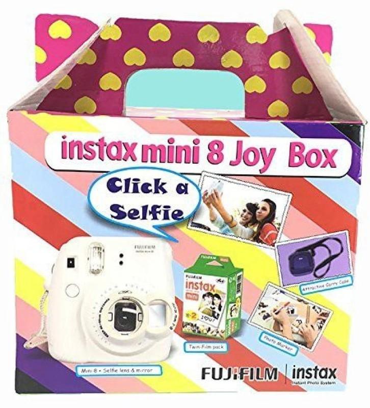 Fujifilm Instax Mini 8 Joy Box (Yellow) Instant Camera(Yellow)