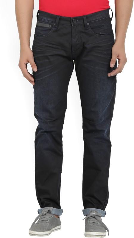 Wrangler Regular Mens Black Jeans