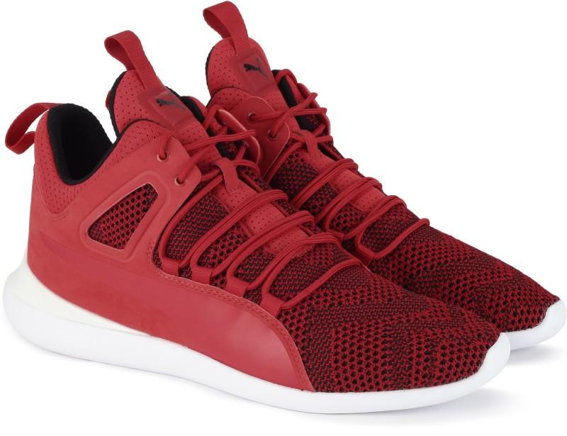 Puma Ferrari SF Evo Cat mid Sneakers For Men(Red)