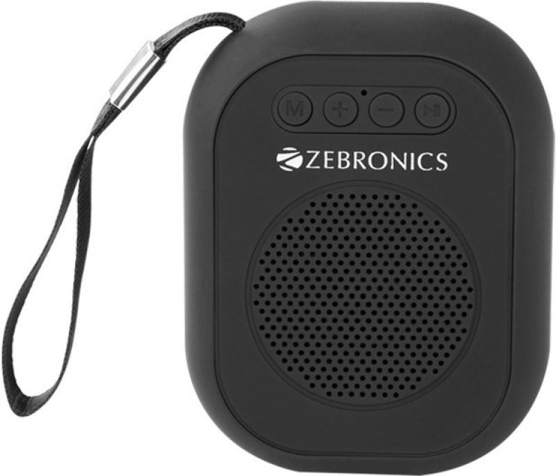 Zebronics ZEB-SAGA 3 W Bluetooth Speaker(Black, 4.1 Channel)