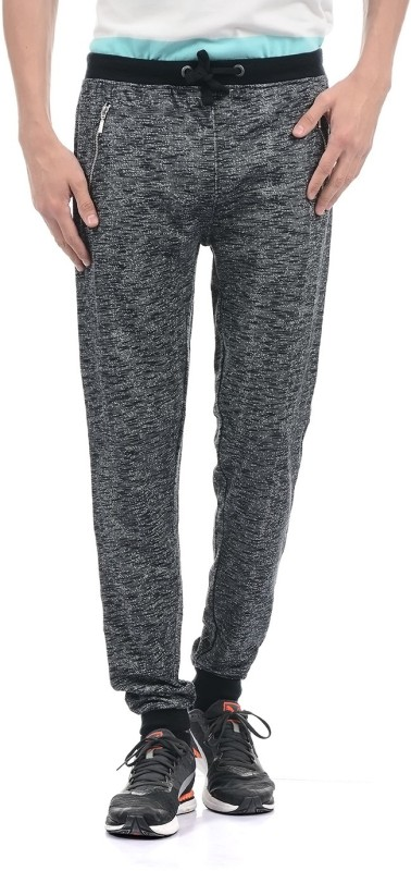 Pepe Jeans Solid Mens Black Track Pants