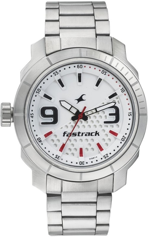 Fastrack 3168SM01 Loopholes Watch For Men