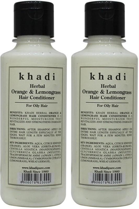 Khadi Herbal Orange & Lemongrass Hair Conditioner(420 ml)