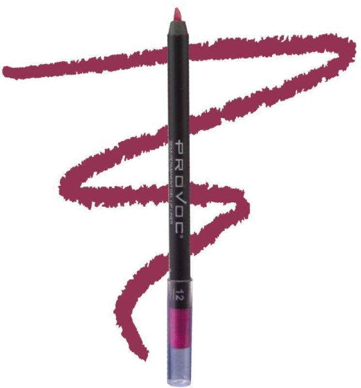 Provoc Semi-Permanent Gel Lip Liner Filler - 12 Bombshell(12 Bombshell)