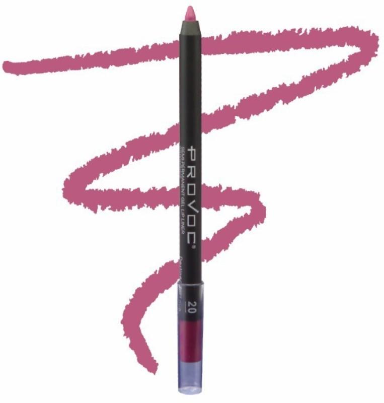Provoc Semi-Permanent Gel Lip Liner Filler - 20 Destined For Love(20 Destined For Love)