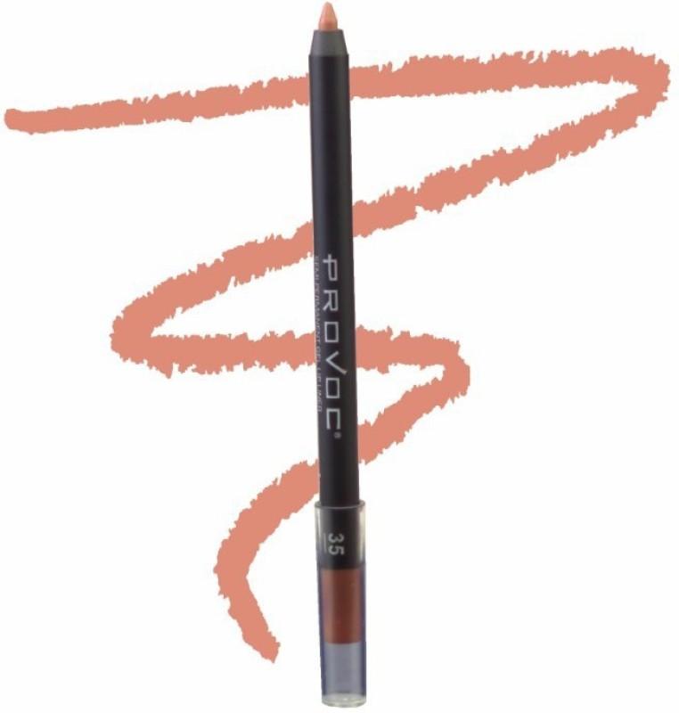 Provoc Semi-Permanent Gel Lip Liner Filler - 35 Sexy Silohette(35 Sexy Silohette)