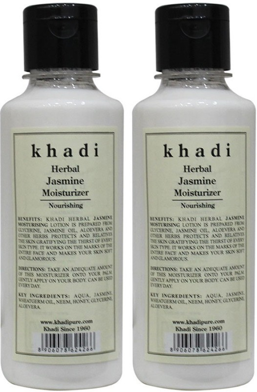 Khadi Herbal Jasmine Moisturizer(420 ml)