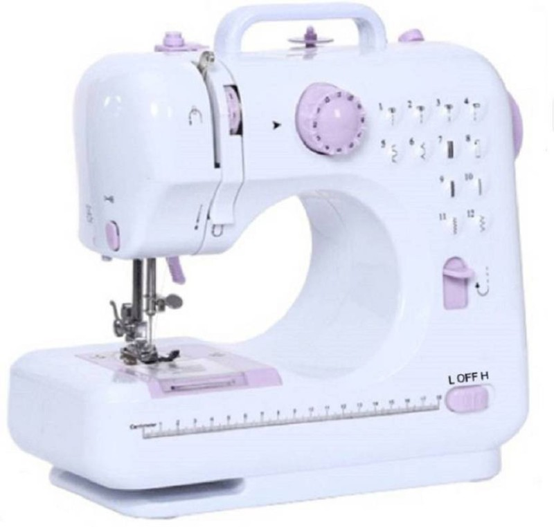 Bluebells India ™ Portable mini household Handheld 10 built-in Stitch Pattens Electric Sewing Machine( Built-in Stitches 14)