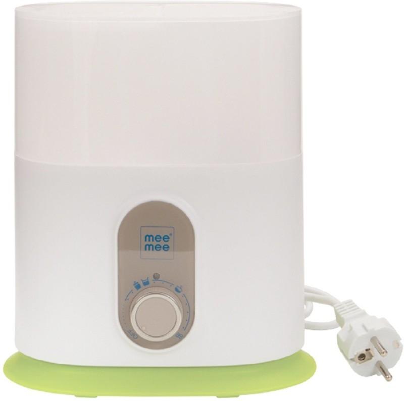 MeeMee Compact 3 In 1 Steam Sterilizer & Bottle Warmer - 2 Slots(White)