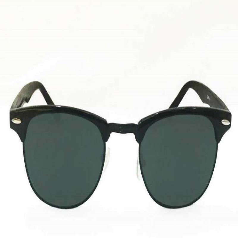 E-Smart Aviator Sunglasses(Black) image