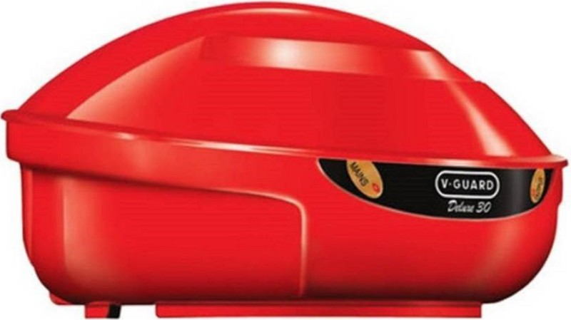 V-Guard VGD 30 (RED) HEAVY DUTY & HIGH QUALITY Voltage Stabilizer (OMSAIRAMTRADERS)(Red)