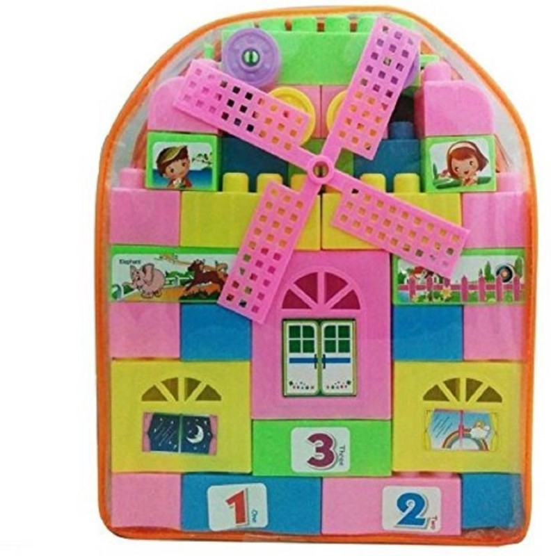 Adi Trading Learning Blocks, Educational Toys, Building Blocks, Kids Puzzle Assembling Blocks(Multicolor)
