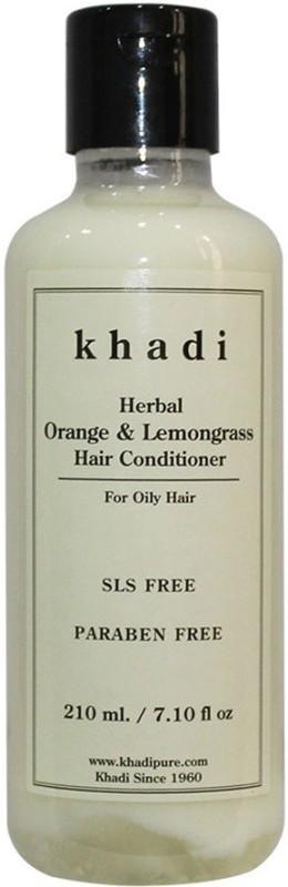 Khadi Herbal Orange & Lemongrass Hair Conditioner SLS-Paraben Free(210 ml)