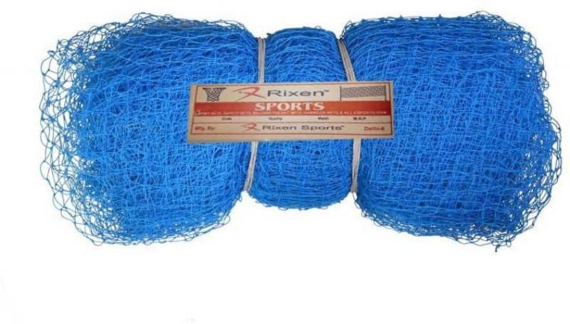Rixen Ready Made Size L50*H12*W15 Cricket Net(Blue)