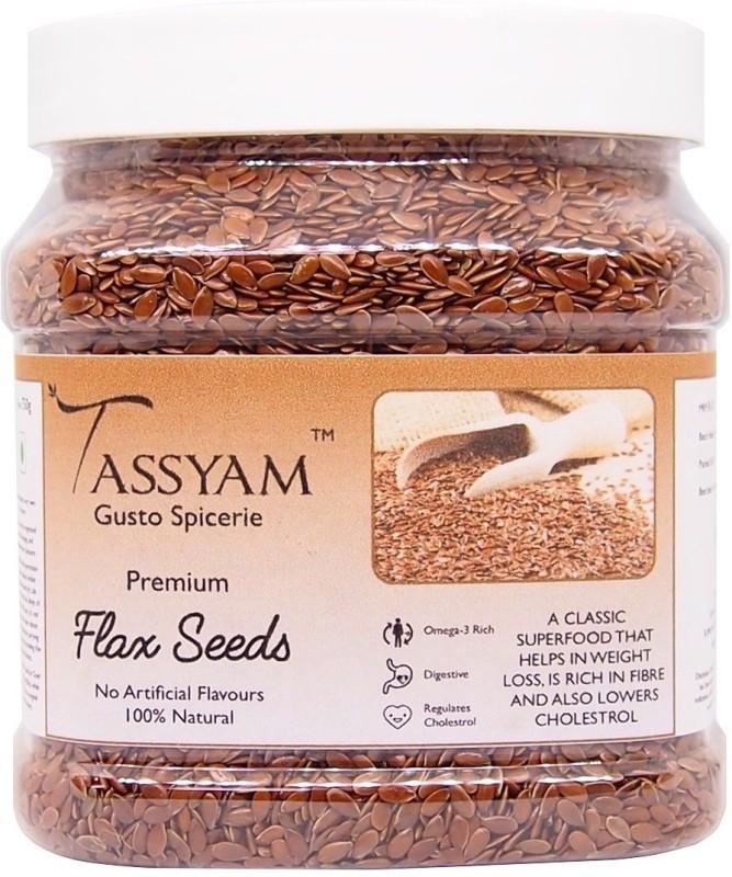 Tassyam Flax Seeds 750g Jar(750 g)
