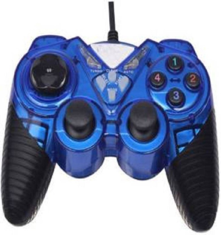 CRETO Latest best quality soft key game for best gaming experience  Gamepad(Blue, For PC)