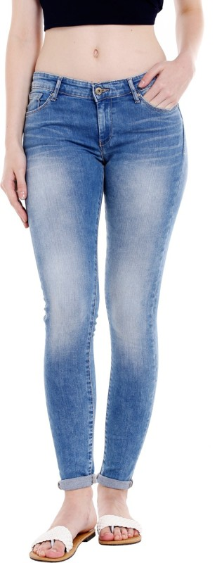Spykar GIS-01AG-14 Regular Womens Blue Jeans