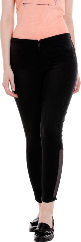 Spykar Regular Womens Black Jeans