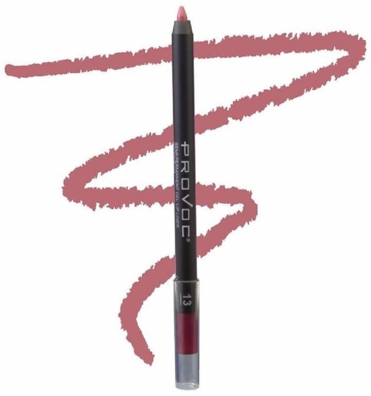 Provoc Semi-Permanent Gel Lip Liner Filler - 13 Delicious(13 Delicious)