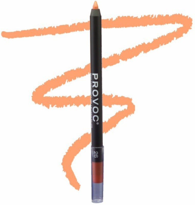 Provoc Semi-Permanent Gel Lip Liner Filler - 26 Autumn Romance(26 Autumn Romance)