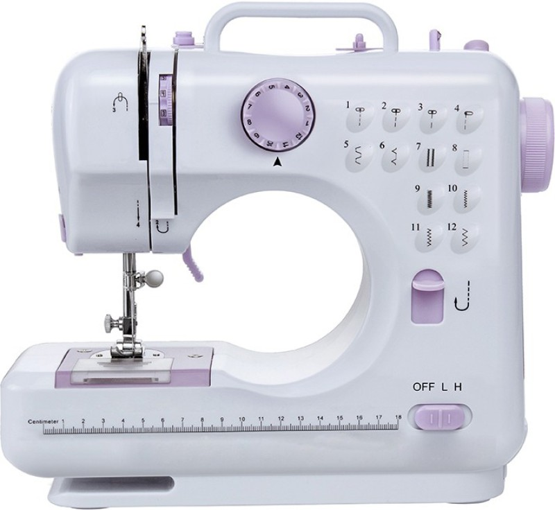 Benison India Professional Choice 12-Stitch Full-Featured Multi-functional Portable, 2-speed Control & Double Thread Electric Sewing Machine ( Built-in Stitches 12) Electric Sewing Machine( Built-in Stitches 14)