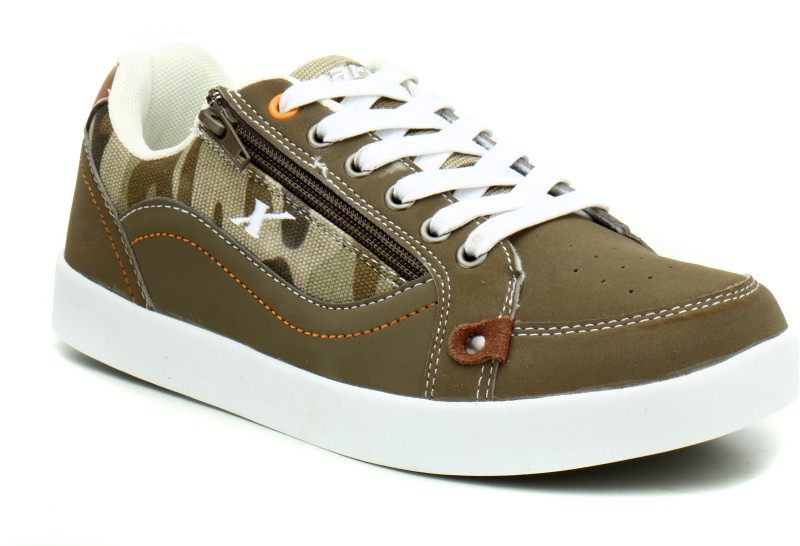 Sparx SM-313 Sneakers For Men(Brown, White)