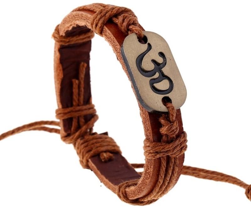 Tinera Trends Leather Bracelet