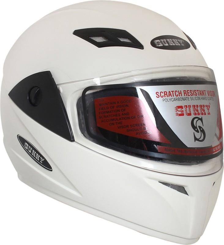 Sunny MOTOSPIN Motorbike Helmet(White)