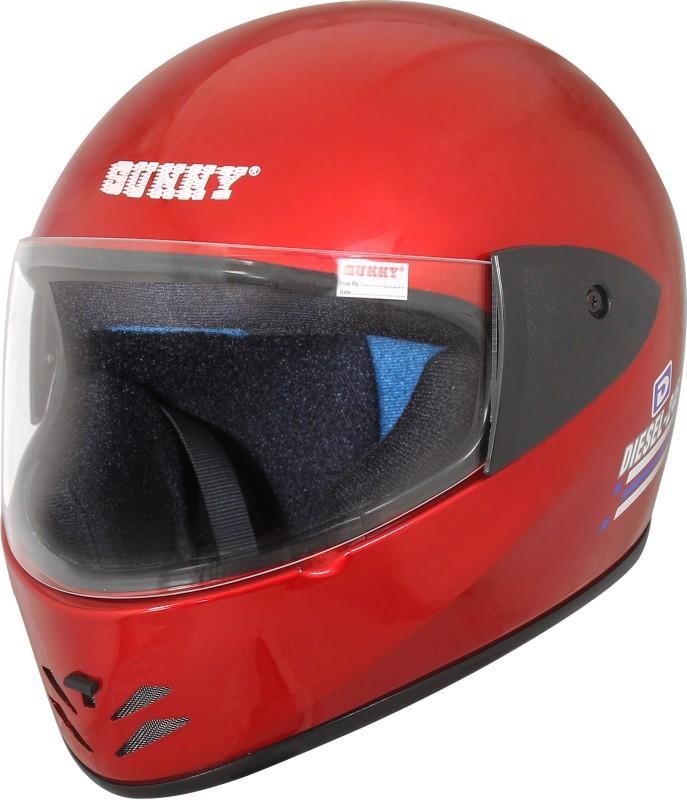 Sunny DIESEL DX Motorbike Helmet(Red)
