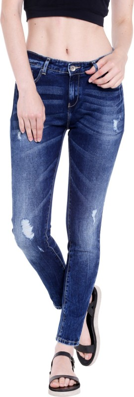 Spykar ADO-01AG-13 Slim Women Blue Jeans