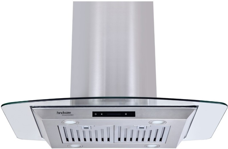 Hindware Olivia Plus 90 Wall and Ceiling Mounted Chimney(Inox 1100 CMH)